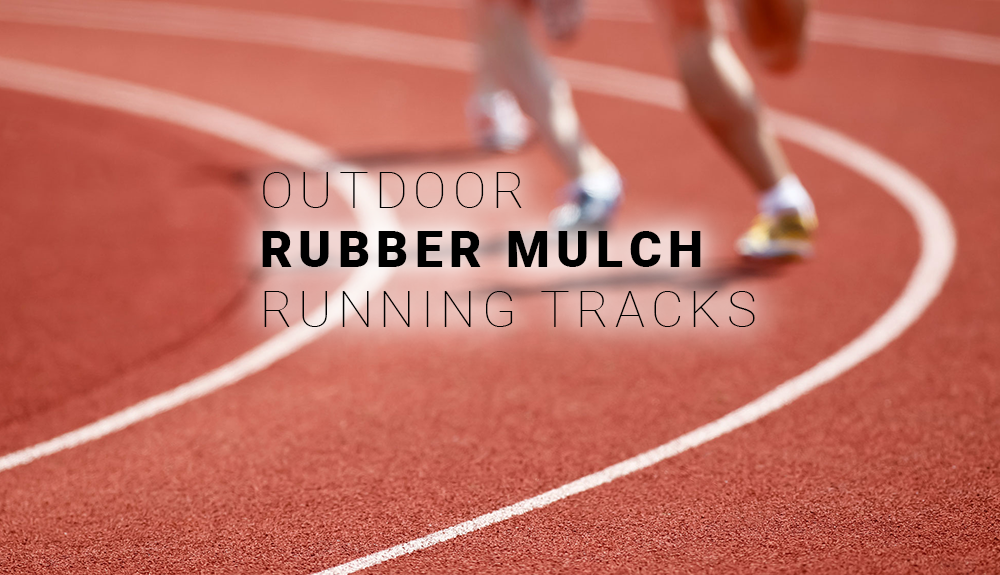 Rubber Mulch Running Track Contractor Virginia