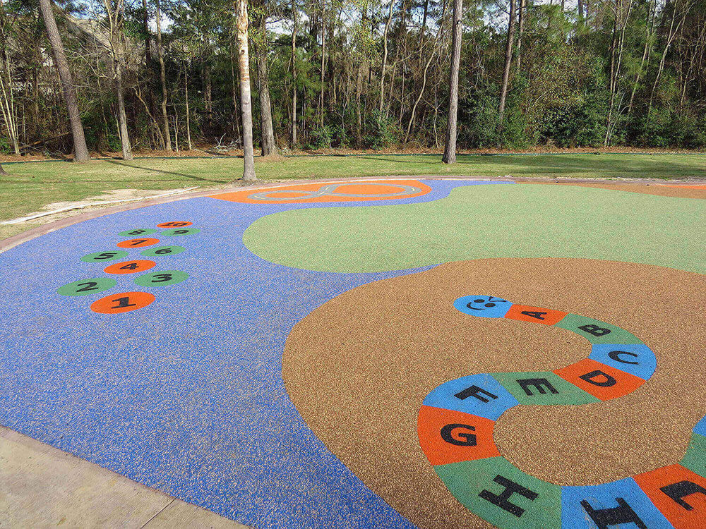 Rubber Mulch Example Playground VA